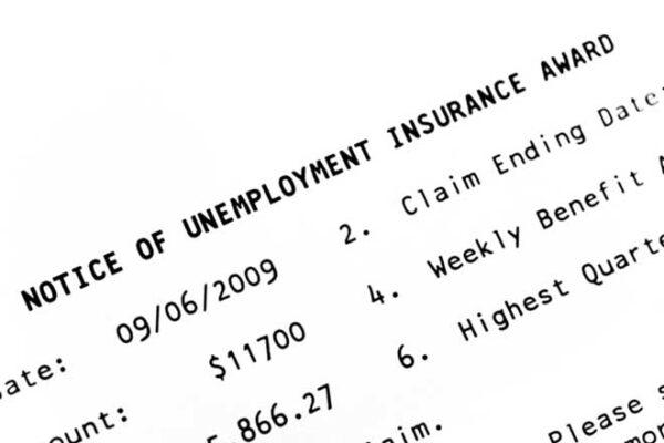 unemployment insurance award